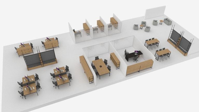 Mobili per ufficio Turku™ Atepaa®