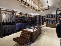 Negozio di mobili per negozio di abbigliamento