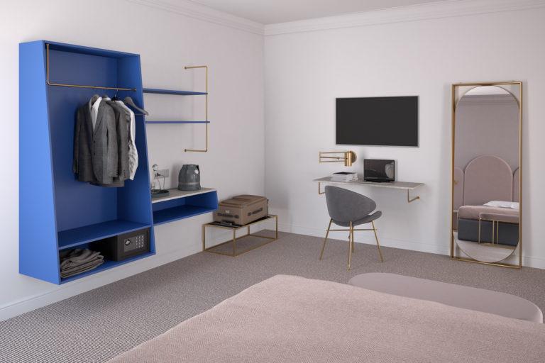 mobili per camera d'albergo